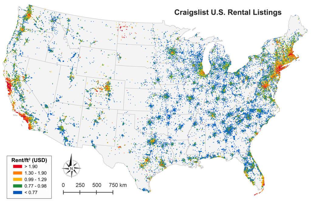New Article: Craigslist Housing Markets in JPER - Geoff Boeing